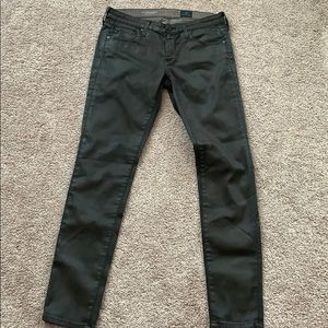 Adriano goldschmied 26 ankle brown skinny jean